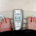 bathroom scale error
