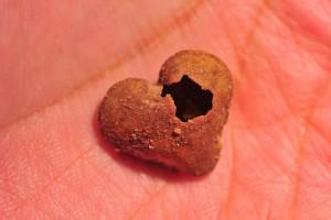 broken heart cracker