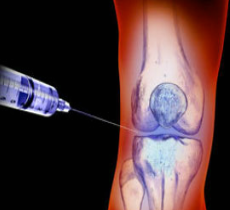 injecting knee