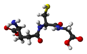 glutathione molecule diagram