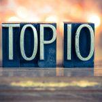 blocks saying Top 10
