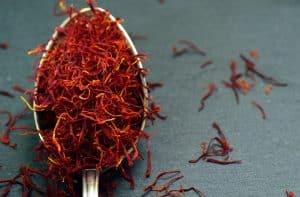 teaspoon of saffron